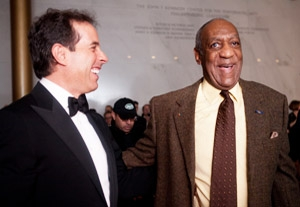 Joke's On Bill Cosby As Seinfeld, Rock Pay Tribute