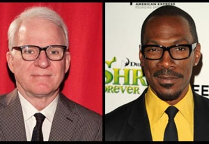 Steve Martin Writes Open Letter to Upcoming Oscar Host Eddie Murphy