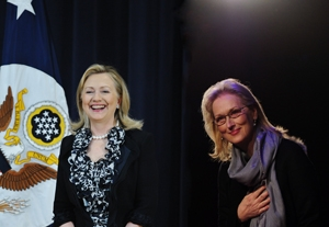 Should Meryl Streep Portray Hillary Clinton?