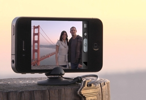 Tiltpod Gives You a Tripod Anywhere