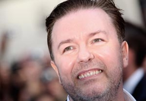 Ricky Gervais Joins N.Y. Comedy Fest
