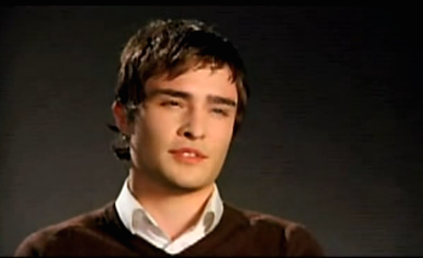 WATCH: Ed Westwick Exudes Confidence in His 'Gossip Girl' Audition ... Ed Westwick