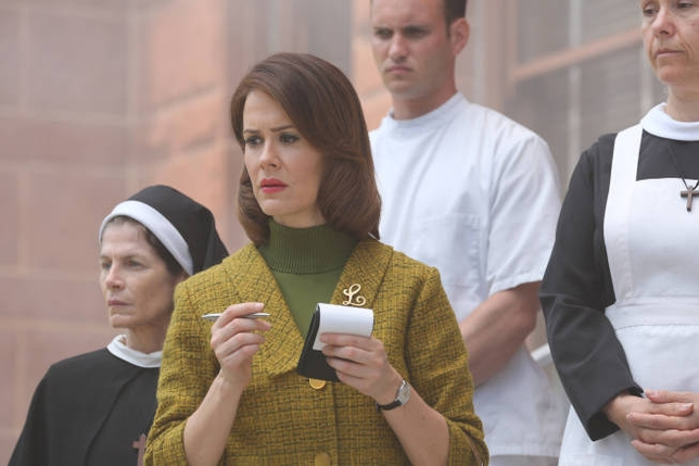 Emmy Nominations: Sarah Paulson on 'American Horror Story: Asylum'