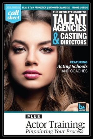 New in Call Sheet: Agents, Managers, Casting Directors, and Schools