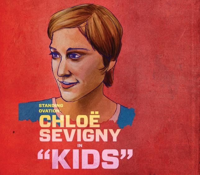 Standing Ovation: Chloë Sevigny in 'Kids'