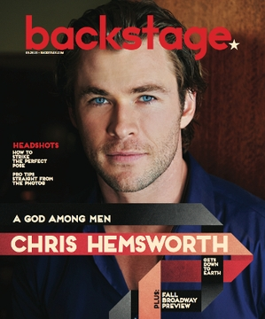 Chris Hemsworth On the Cover of Backstage This Week!