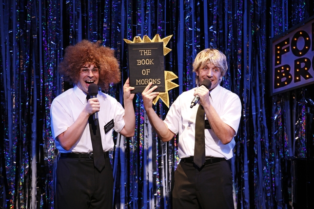 Actors Tackle Parody and 11 o'clock Numbers in 'Forbidden Broadway'