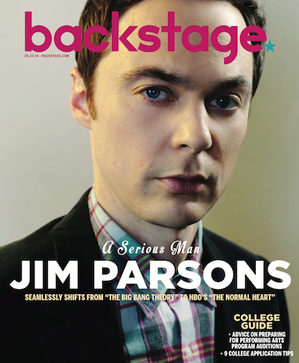 Jim Parsons On the Cover of Backstage This Week!