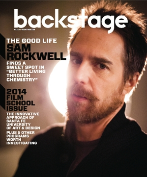 Sam Rockwell On the Cover of Backstage This Week!