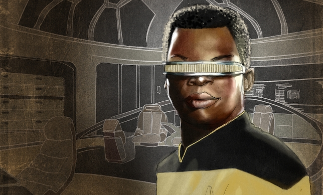 A Blindfolded LeVar Burton Delivered on 'Star Trek: The Next Generation'