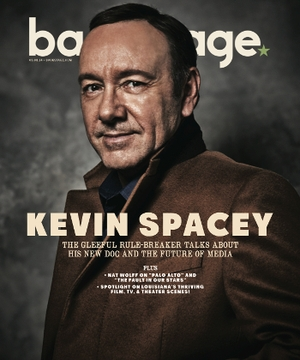 Kevin Spacey On the Cover of Backstage This Week!