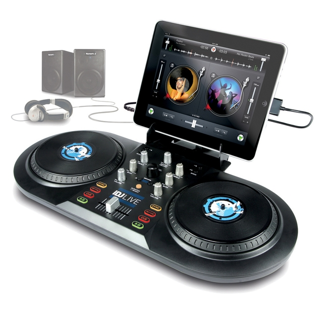 Idj Turns Any Apple Device Into A Dj Turntable Backstage