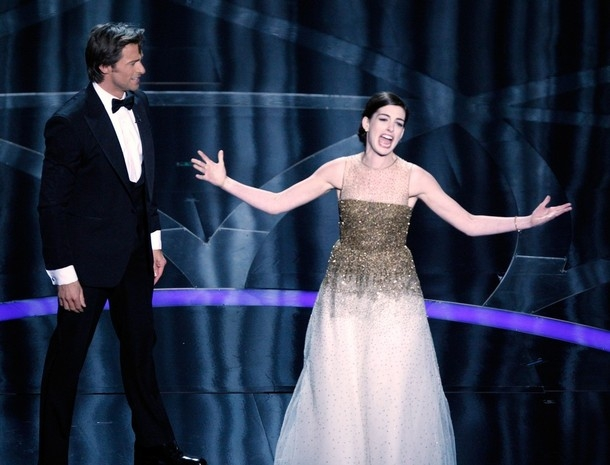 Did Anne Hathaway Audition for 'Les Mis' at Oscars?